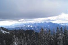 romania krajobrazowa zima Zdjęcie Stock