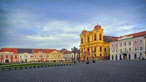 02 Romania kwadratowy timisoara zjednoczenie Zdjęcia Stock