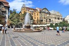 02 Romania kwadratowy timisoara zjednoczenie Obraz Stock