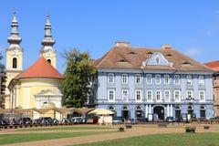 02 Romania kwadratowy timisoara zjednoczenie Fotografia Stock