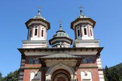 Sinaia Monastery. Romania landmark - Sinaia Monastery in Muntenia region. Prahova county royalty free stock image