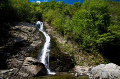 Romania - Lotrisor Waterfall Royalty Free Stock Photography