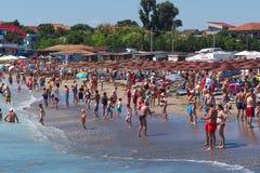 Romania 2 Mai beach Stock Photography