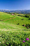 Romania, Mountain village Stock Image
