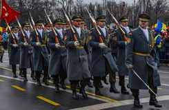 Romania National Day ,Germany Army Royalty Free Stock Photography