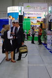 Romania national exhibition at TT Warsaw royalty free stock photo