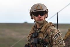 ROMANIA-NATO-ARMY-EXERCISE Стоковые Фото