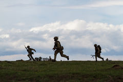 ROMANIA-NATO-ARMY-EXERCISE Photo stock