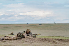 ROMANIA-NATO-ARMY-EXERCISE Photographie stock