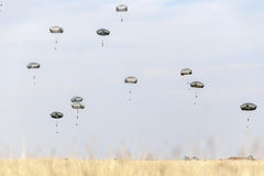 ROMANIA-NATO-ARMY-EXERCISE Images libres de droits