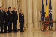 Romania New Government: Dacian Ciolos Cabinet Royalty Free Stock Photo