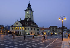 Romania old city from Transylvania royalty free stock photos