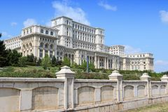 Romania parliament Royalty Free Stock Photography