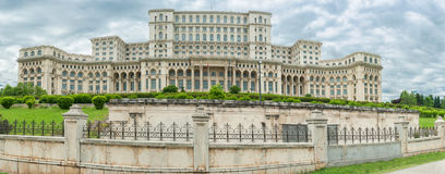 Romania Parliament. One of the largest building in the world. Romania Parliament. One of the largest building stock image