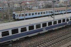 Romania passanger trains Stock Image