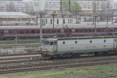 Romania passanger trains Stock Images