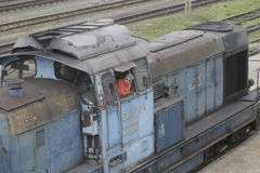 Romania passanger trains Stock Photography