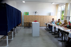 Romania - President Referendum Royalty Free Stock Photos