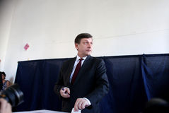 Romania - President Referendum Stock Photo