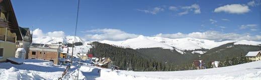 Romania - Ranca winter sun Royalty Free Stock Images