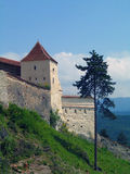 Romania. Risnov. Summer in Romania, Fortress in Risnov Stock Images