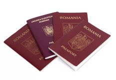 Romania : romanian passport Royalty Free Stock Image