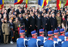 Romania's National Day 2015 Stock Images