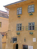 Romania, Sighisoara. Vlad the Impaler (Dracula) native house Royalty Free Stock Photography