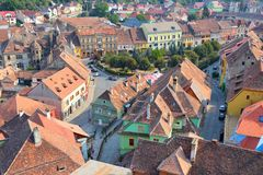 Romania - Sighisoara Stock Photo