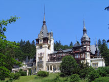 Romania. Sinaia. Travel in Romania. Sinaia. Peles Castle Royalty Free Stock Photo