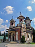Romania. Sinaia Monastery. Summer in Romania. Sinaia Monastery Royalty Free Stock Photos