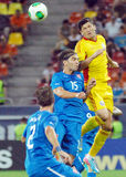 ROMANIA-SLOVAKIA, INTERNATIONAL FRIENDLY GAME Stock Photo