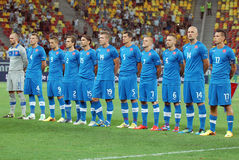 ROMANIA-SLOVAKIA, INTERNATIONAL FRIENDLY GAME Stock Photography