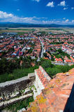 Romania - Town in Transylvania Royalty Free Stock Image