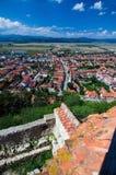 Romania - Town in Transylvania Royalty Free Stock Image