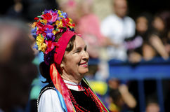 Romania traditional folk Stock Photos