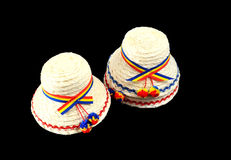 Romania traditional hats Royalty Free Stock Image