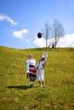 Romania traditional people Royalty Free Stock Photo
