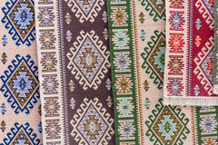 Romania traditional rugs Royalty Free Stock Images