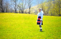 Romania traditional woman Royalty Free Stock Photos