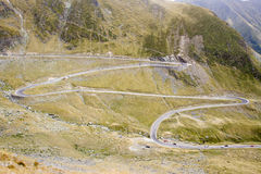 Romania - Transfagarasan road Stock Photos
