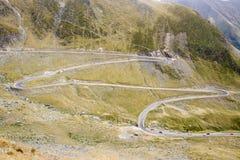 Romania - Transfagarasan road Stock Photos