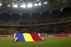 Romania-Uruguay Friendly Match Royalty Free Stock Photo