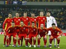Romania-Uruguay Friendly Match Stock Photos