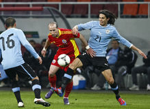 Romania-Uruguay Friendly Match Royalty Free Stock Image