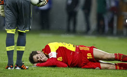 Romania-Uruguay Friendly Match Royalty Free Stock Photography