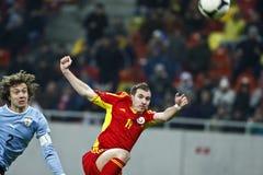 Romania-Uruguay Friendly Match Royalty Free Stock Photos