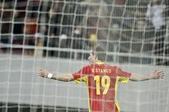 Romania-Uruguay Friendly Match Stock Photography