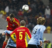 Romania-Uruguay Friendly Match Stock Photography