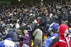 Romania-Uruguay Friendly Match Incidents Stock Photos